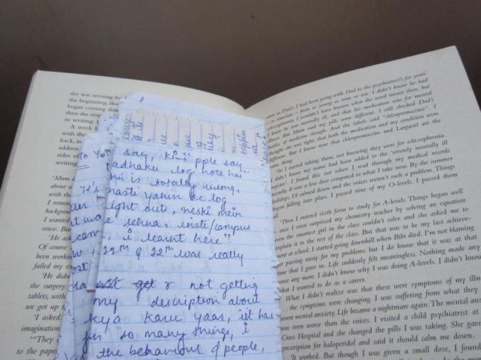 Letters from friends, another thing to hide! And it does feel great to find them in the novels i read.