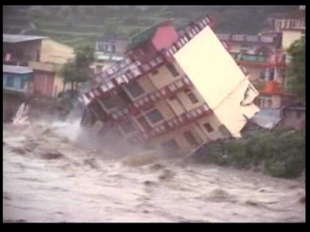 Uttarakhand Floods 2013 Ecological Disasters and the
