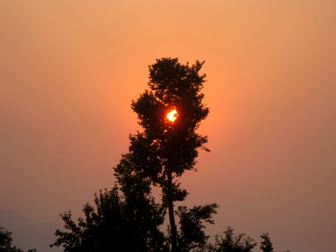 Sunset At My Village